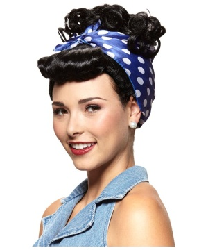 Rosie the Riveter Wig