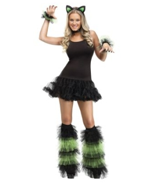 Ruffle Wristlets/boot Covers Adult Set