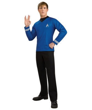 Blue Shirt Costume