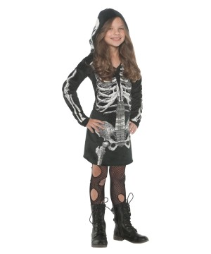 Skeleton Hoodie Dress