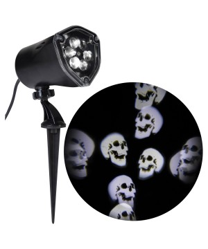 Skulls Projector Light Show