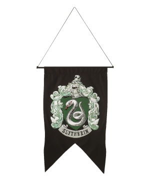 Slytherin Banner Book Hogwarts School Magic House