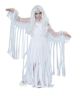 Spooky Ghostly Spirit Costume