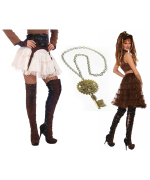 Steampunk Seductress Costume Kit
