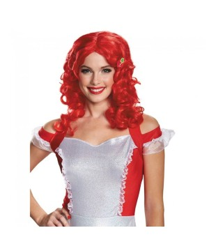 Strawberry Shortcake Character Wig