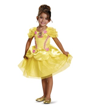 The Beast Princess Belle Costume Gown