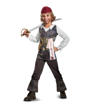 The Caribbean 5 Jack Sparrow Costume