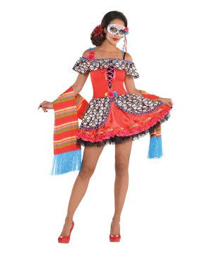 The Dead Senora Sugar Skull Costume