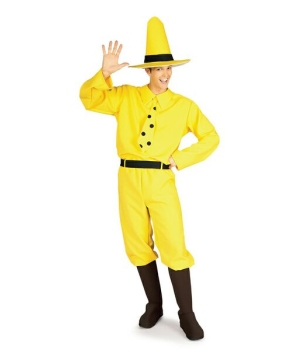 The Man in the Yellow Hat Adult Costume