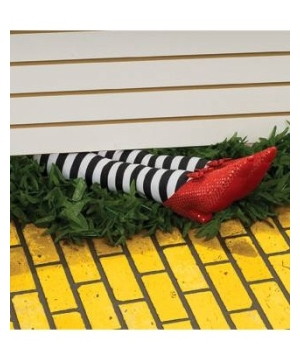 Wicked Witch Legs Decoration