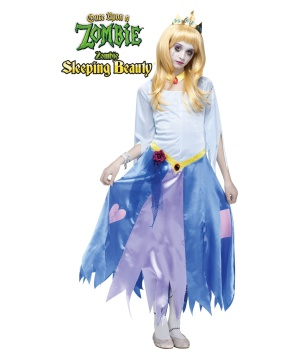 A Zombie Sleeping Beauty / Costume