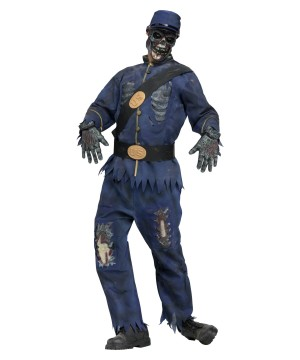 Zombie Union Soldier Costume